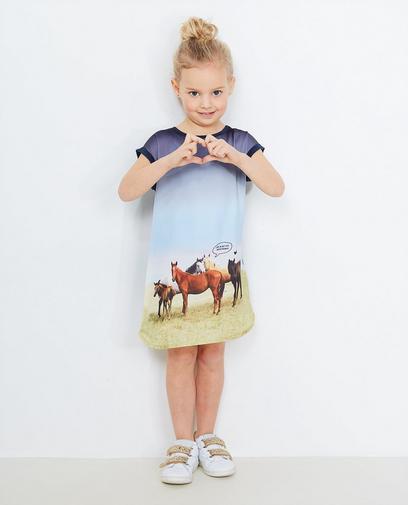 Kleid mit Fotoprint